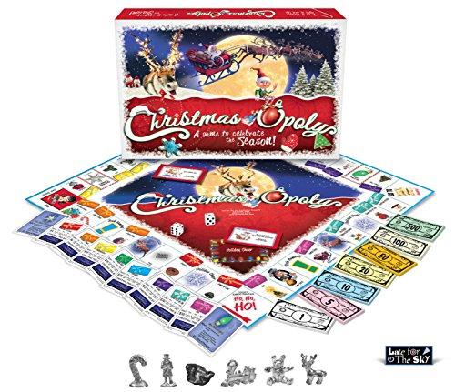 Christmas-Opoly. £13.27 (Prime) / £18.02 (non Prime)  on amazon. Cheapest ever price.