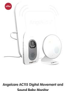 Angelcare AC115 baby monitor - £99.99 @ Boots