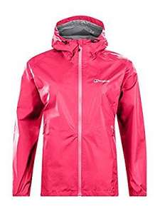 Berghaus Women's Deluge Light Waterproof Jacket ( pink, size 12 ) - £34.01 @ Amazon