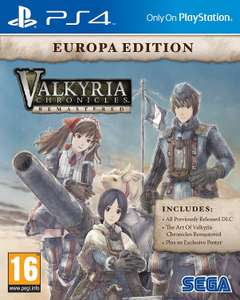 [PS4] Valkyria Chronicles Remastered £6.49 & Valkyria Revolution £11.99 (£8.49 with PS+) @ PSN