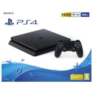 PS4 500GB Black Console + God of war + Wolfenstein II: The New Colossus + Doom - £259 @ Tesco Direct