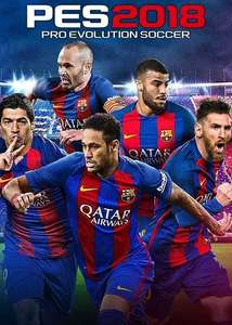 Pro evolution soccer 2018 standard edition £6.99 or Barcelona edition £12.99 (pc) - CDKeys