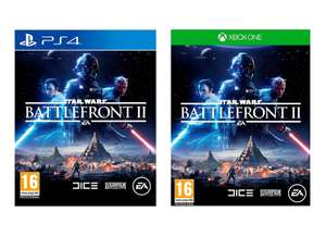 Star Wars Battlefront II (PS4 / Xbox One) for £20 @ Tesco