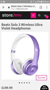 Dr dre beats solo 3 wireless headphones £149.99 HMV