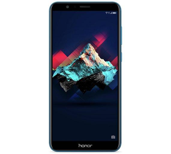 Sim Free Honor 7X Mobile Phone - Blue | save £30 - £219.95 @ Argos
