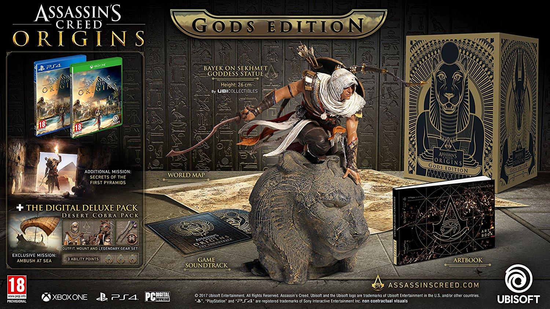 Assassin's Creed Origins Gods Collector's Edition (Xbox One) £59.99 @ Amazon Primenow