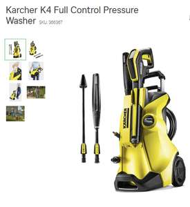 Karcher K4 Full Control Pressure Washer £63.75 @ Homebase