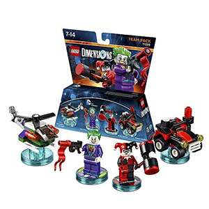 LEGO Dimensions: Team Pack DC Joker/Harley £10.99 prime / £12.98 non prime @ Amazon