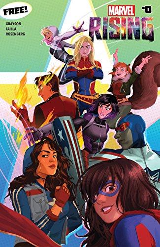 Amazon Kindle (+ Comixology) - Marvel Rising #0 digital comic free