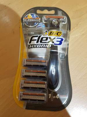 Bic hybrid flex 3 razor and 4 blades £2 @ Morrisons