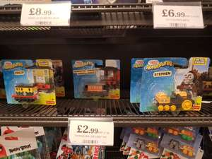 Thomas and friends adventures metal engines £2.99 in store only at Home Bargains , Prescot. STEVEN , PHILIP,IVAN,HENRIETTA,ASHIMA,HAROLD