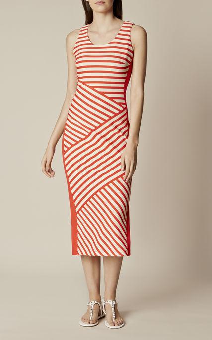 25% off ALL Dresses, Shoes, Bags & Accessories inc Sale w/code + Free C+C @ Karen Millen eg Narrow Stripe Midi Dress was £160 now £45