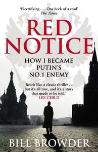 Bill Browder: Red Notice kindle ebook 99p (was £4.99 yesterday)