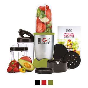 The Original Magic Bullet Blender, Mixer & Food Processor 11-Piece Set (Green) £24.99 Dispatched from and sold by High Street TV - Amaazon