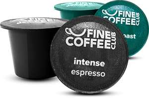 All Nespresso Compatible Capsules at Fine Coffee Club 15p till 30/04 (Including Hot Chocolate & Tea Capsules!) - Order 101 or more items for free P&P