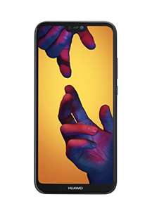 Huawei P20 Lite UK SIM-Free Smartphone bundle with 16GB SD Card (Amazon Exclusive) - Black £299.95 @ amazon