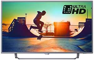 Philips 50PUS6272/05 50-Inch 4K Ultra HD Smart TV with HDR & Ambilight 3-sided £409 @ Amazon