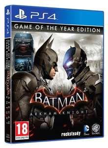 Batman Arkham Knight GOTY Game Of The Year Edition (PS4) £14.99 Delivered @ Funboxmedia via eBay