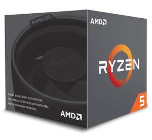 Ryzen 5 2600 CPU with Wraith Stealth cooler £160.99 @ Amazon