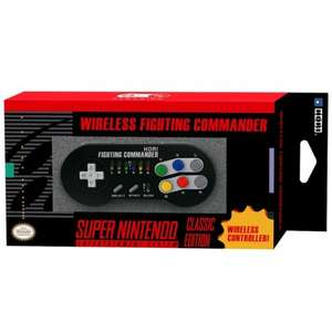 HORI Wireless Fighting Commander Classic Controller  - Mini SNES/NES/Wii U £12.99 delivered @ 365Games