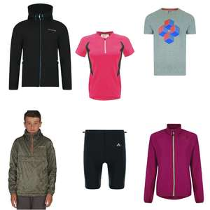 Dare2b Upto 60% off clearance + Extra 20% off with code - Includes some cycling items too (Some items at higher discount)