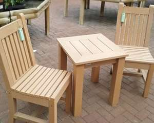 Winawood All-weather garden furniture (or indoors): Table & 2 Dining Chairs £89.99 Gardiner Haskins  (normally around £400) Click and Collect - or delivery from £10.95