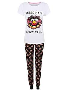 Disney Muppets \ princess aurora \ mummy Peppa pig women's pyjamas,£8 @ Asda