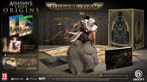 Assassins Creed Origins Collectors Gods Edition for Xbox One or PS4 - inc FREE next day delivery! £62.86 @ ShopTo