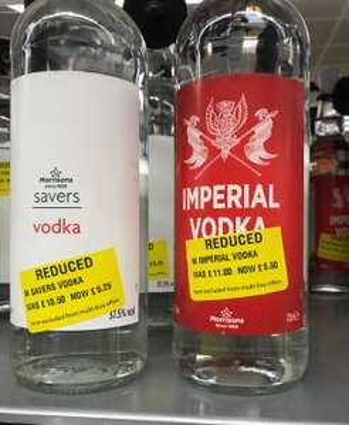 Vodka , Bacardi half price @ Instore Morrisons Anniesland, Glasgow - £5.25
