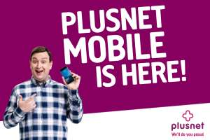 6GB 4G Data - 3000 Minutes - Unlimited Texts - 30 Days Sim @ Plusnet Mobile (Broadband Choices) - £13pm