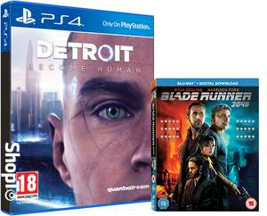 Detroit Become Human plus Blade Runner 2049 BluRay and Dynamic Theme - £46.85 @ Shopto