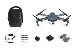 DJI CP.PT.000641 Mavic Pro Drone Combo Kit Grey @ Amazon Prime sold by CCL Computers.