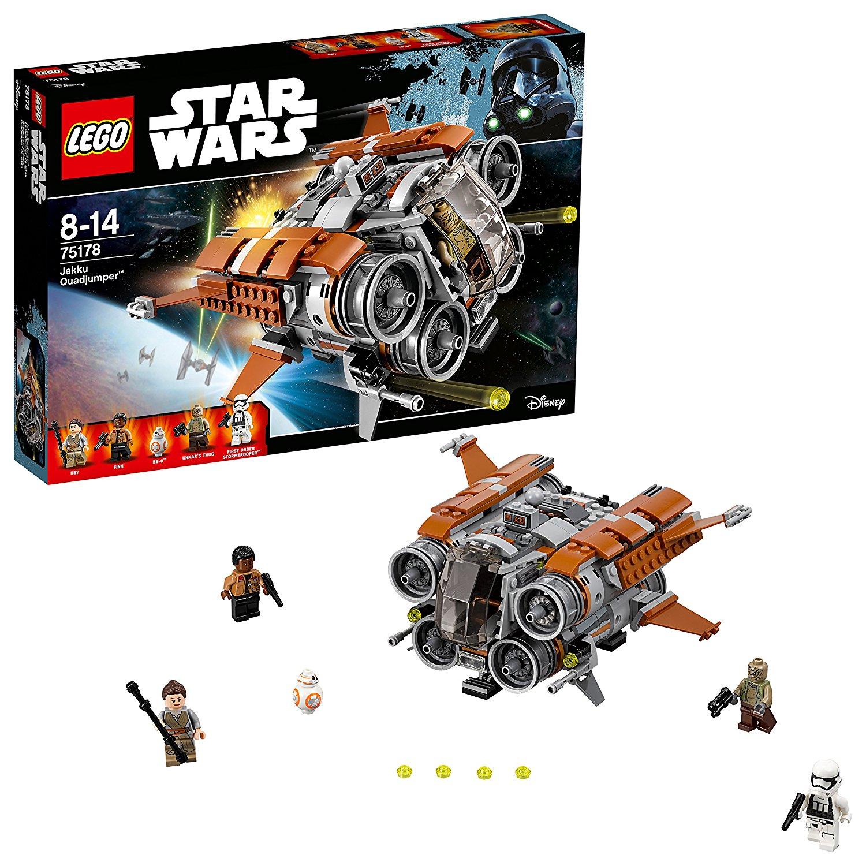 Lego 75178 Star Wars TFA Jakku Quadjumper £29.95 @ Amazon