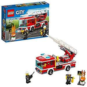 LEGO 60107 City Fire Ladder Truck - £12.97 (Prime) / £16.96 (non Prime) @ Amazon