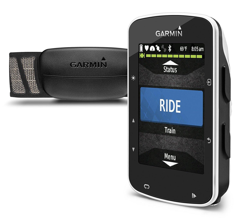 Garmin Edge  520 GPS Bike Computer with Premium Heart rate monitor £199 Amazon