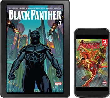 Marvel Unlimited digital comics - First month $5 (plus VAT), then $9.99 (plus VAT)/month