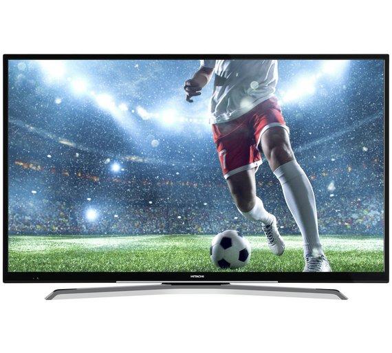 Hitachi 50 Inch Smart 4K UHD TV With HDR £379.99 / Bush 32 Inch HD Ready Smart TV £159.99 @ Argos