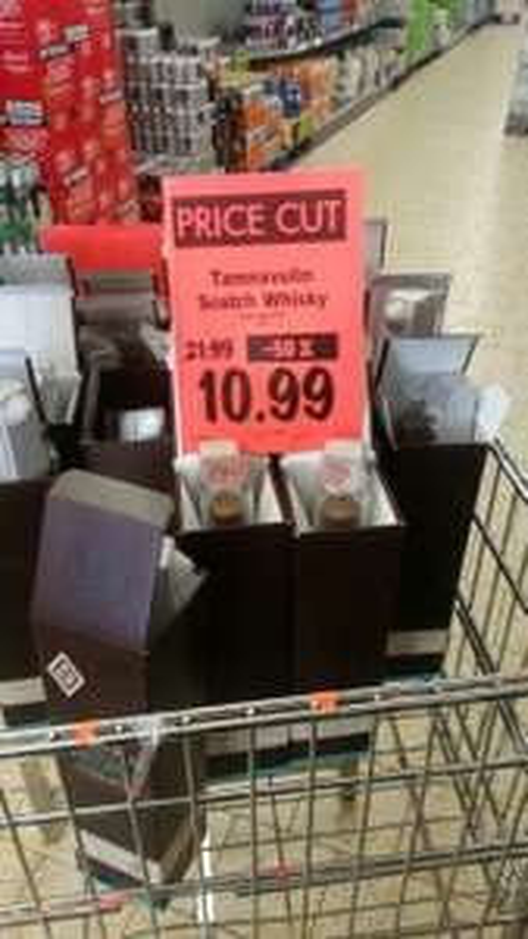 Tamnavulin single malt Scotch Whisky £10.99 at Lidl instore