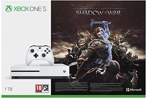 Xbox One S 1TB + Shadow Of War £143 @ Amazon France (Using youth bonus - should work for all)