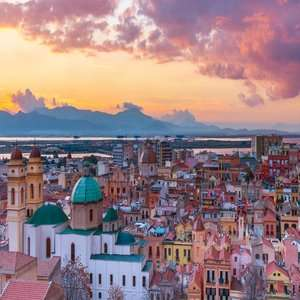 Return Flights London Gatwick (+ other locations) to Sardinia / Naples / Ibiza / Olbia / Faro £39 @ Tui