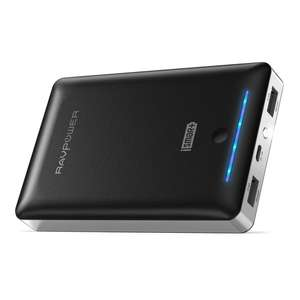 RAVPower 16750mAh Power Bank with 4.5A Dual USB Output - £25.99, £20.99 with promotion - Sold by Sunvalleytek-UK, Fulfilled by Amazon UK
