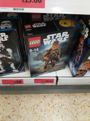 Lego Star Wars Chewbacca buildable figure down to £16.66 in-store @ Sainsburys