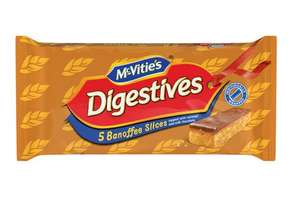 McVitie's Banoffee Slices 2 packs of 5 £1.00 @Heron