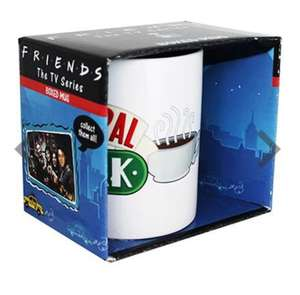 Friends central perk mug - £3 @ The Works + free C&C (possible £2.40 with Quidco)