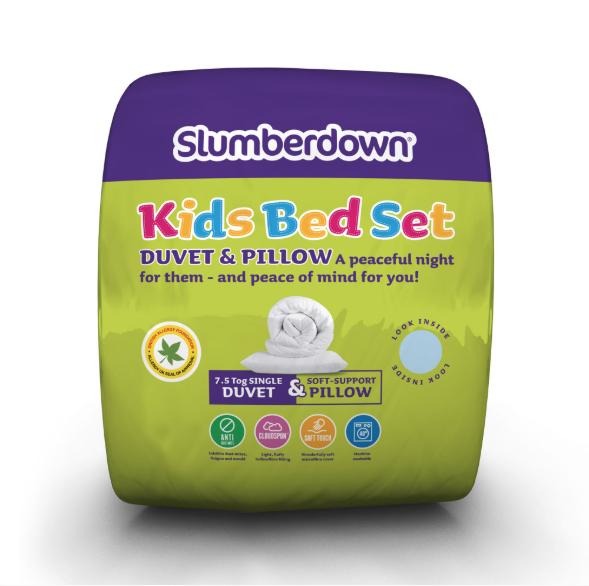 Slumberdown Kids Bed set [7.5 Tog] £9.99 Delivered @ Slumberdown
