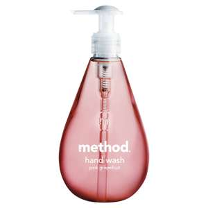 Method Hand Wash Pink Grapefruit 354ml (Pack of 6) for £4.78 - Amazon UK (Prime / £9.53 non Prime)