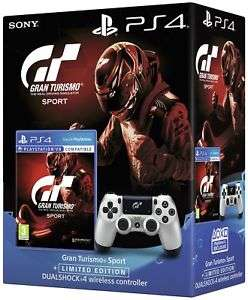 Gran Turismo Sport Limited Edn Dualshock 4 PS4 Game Bundle. From Argos ebay - £52.99