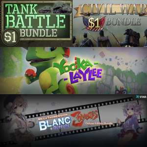 Tank Battle Bundle 89p / Civil War Bundle 89p / Yooka-Laylee £10.49 [More in OP] @ Fanatical [Steam]