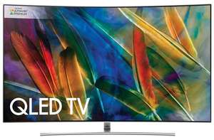 Samsung QE55Q8C 55 inch Curved 4K Ultra HD Premium HDR 1500 Smart QLED TV (6 Year Guarantee) £1299 with Code @ Richer Sounds