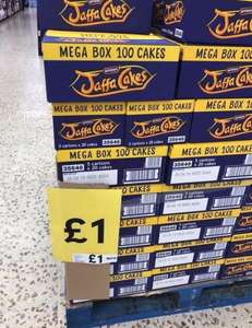 Mega box jaffa cakes 100 in a box - £1 instore @Tesco